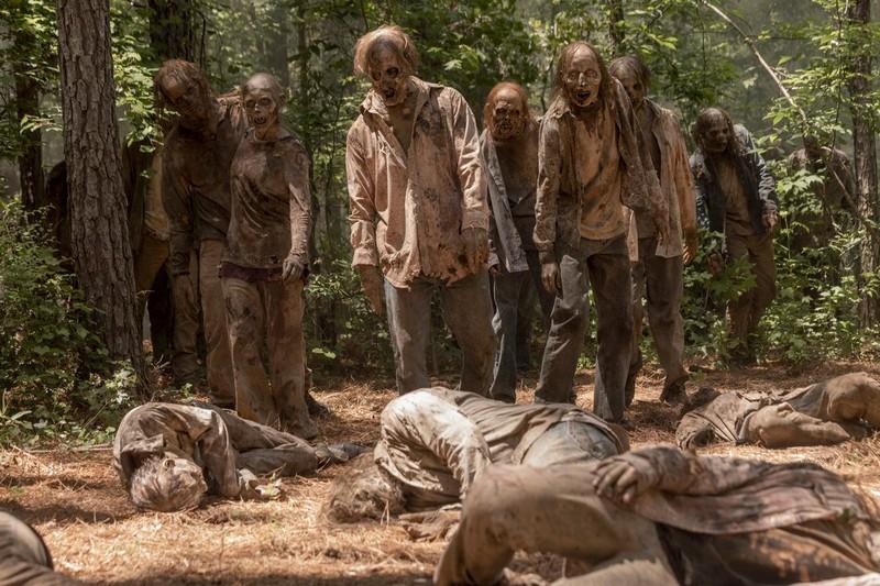 зомби ходячие мертвецы 10 сезон