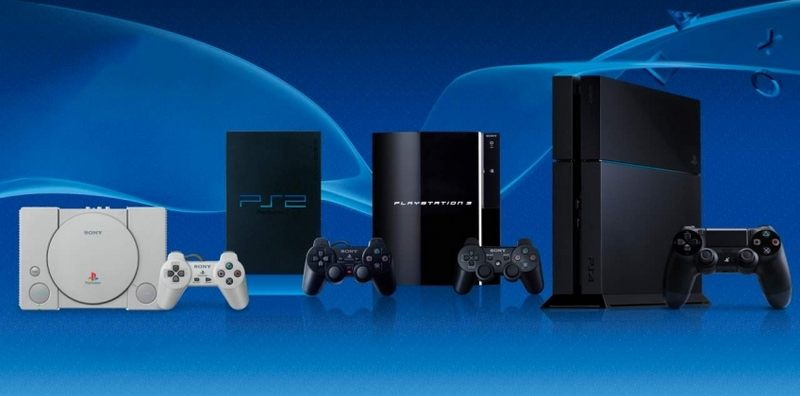 Консоли PlayStation от первой до четвёртой
