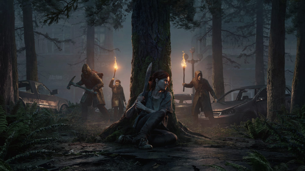 The last of us 2 кадры